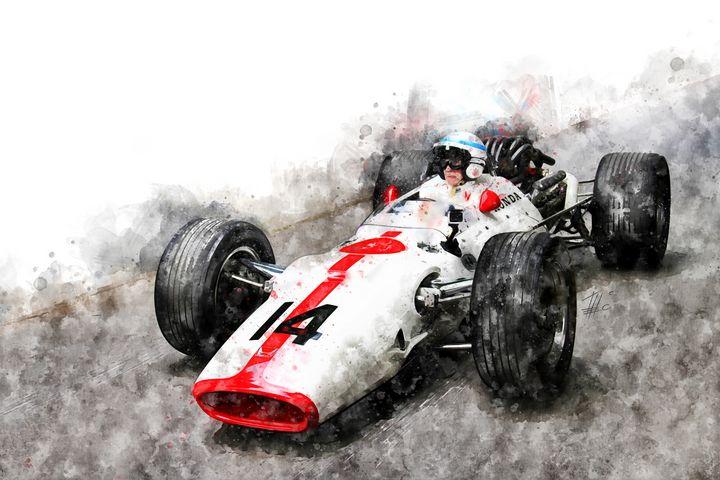 John Surtees on Honda - Theodor Decker