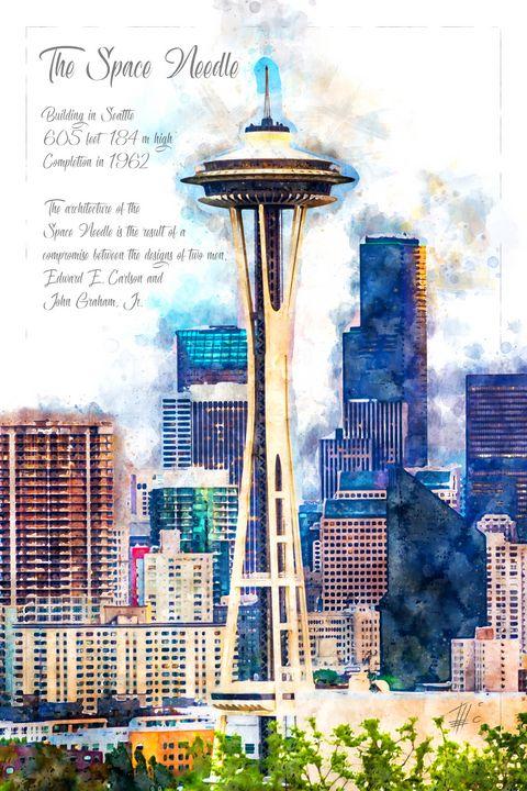 Space Needle, Seattle - Theodor Decker