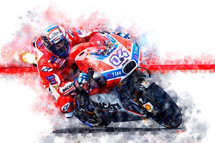 Andrea Dovizioso 04 - Theodor Decker