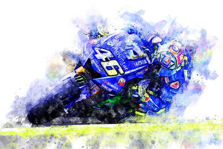 Valentino Rossi - Theodor Decker