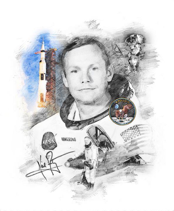Neil Armstrong - Theodor Decker