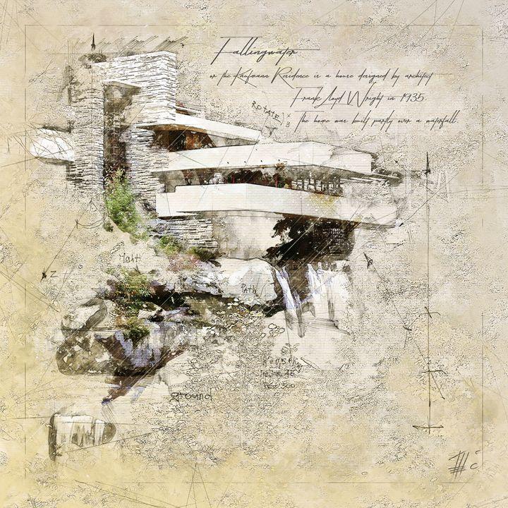 Fallingwater, Frank Lloyd Wright - Theodor Decker