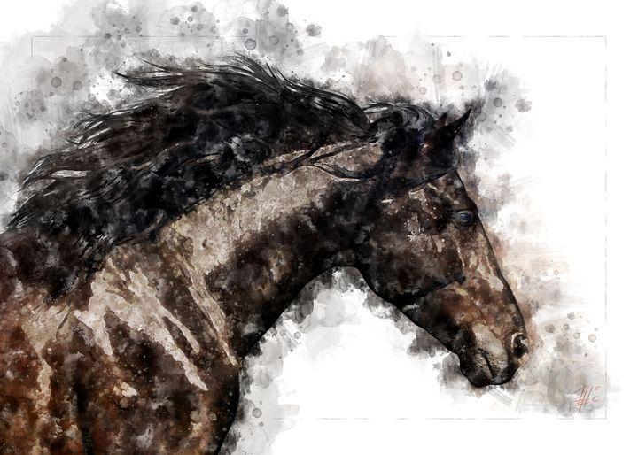 Horse - Theodor Decker