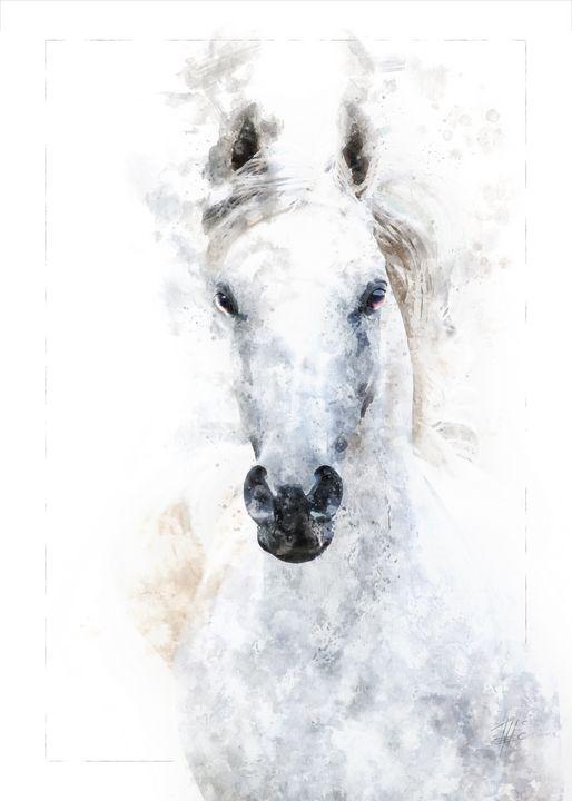 White Horse - Theodor Decker