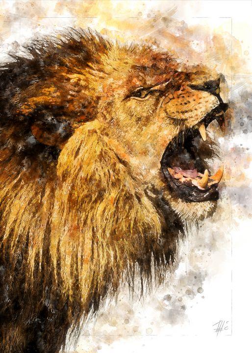 Lion - Theodor Decker