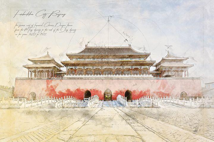 Forbidden City, Beijing China - Theodor Decker