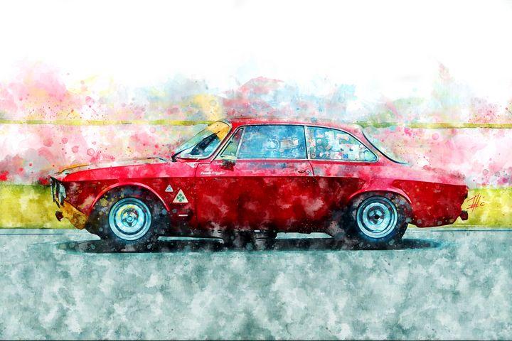 Alfa Romeo Giulia - Theodor Decker