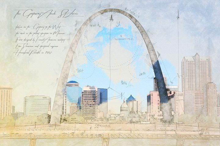 Gateway Arch, Saint Louis - Theodor Decker