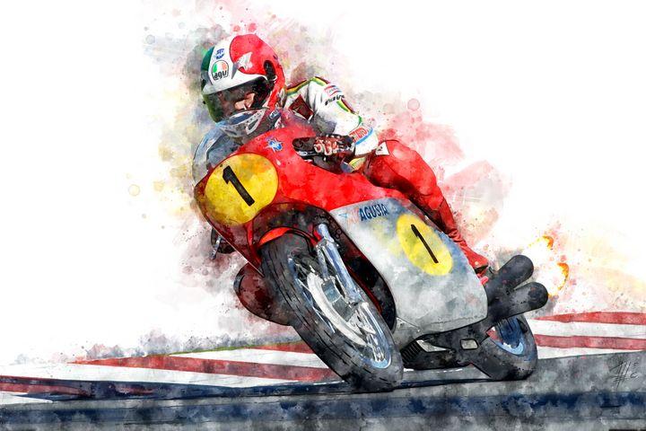 Giacomo Agostini - Theodor Decker