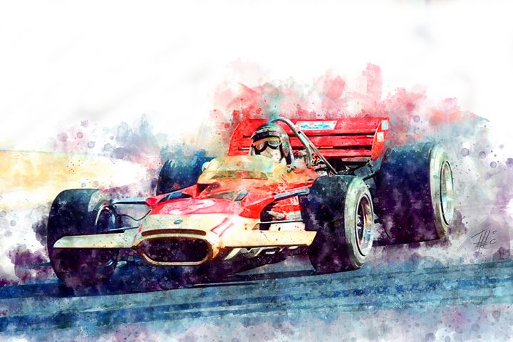 Jochen Rindt Nr.3 - Theodor Decker