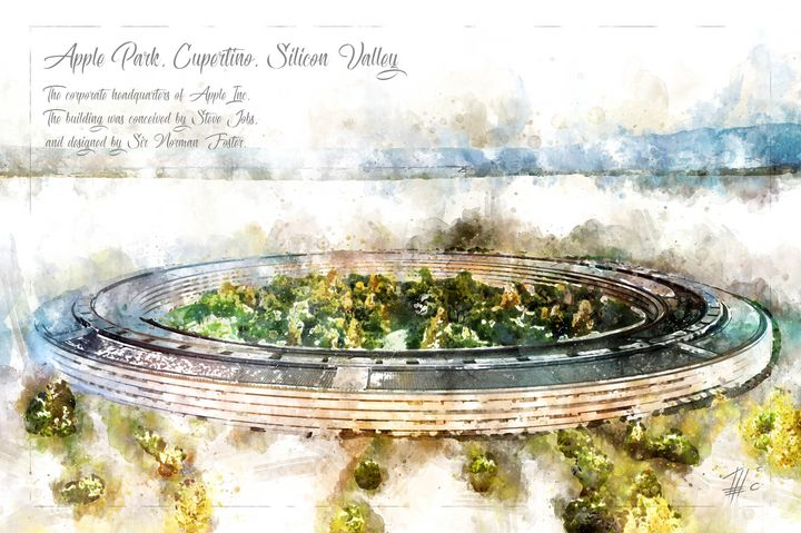 Apple Park, Cupertino - Theodor Decker