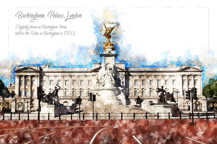 Buckingham Palace, London - Theodor Decker