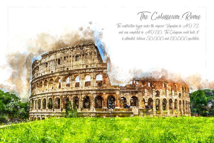 Colloseum, Rome - Theodor Decker