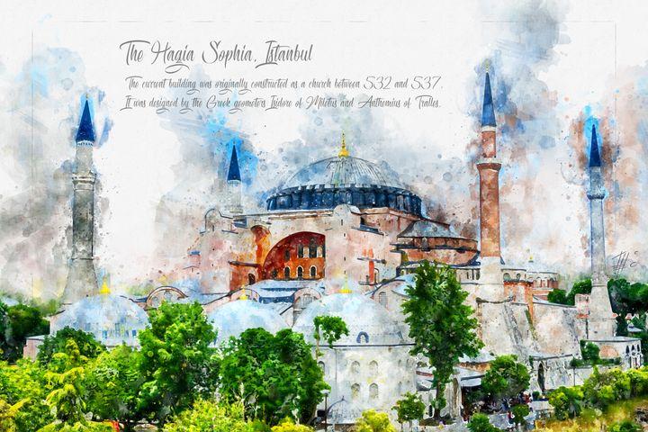 Hagia Sophia, Istanbul - Theodor Decker
