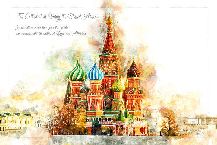 Saint Basil, Moskow - Theodor Decker