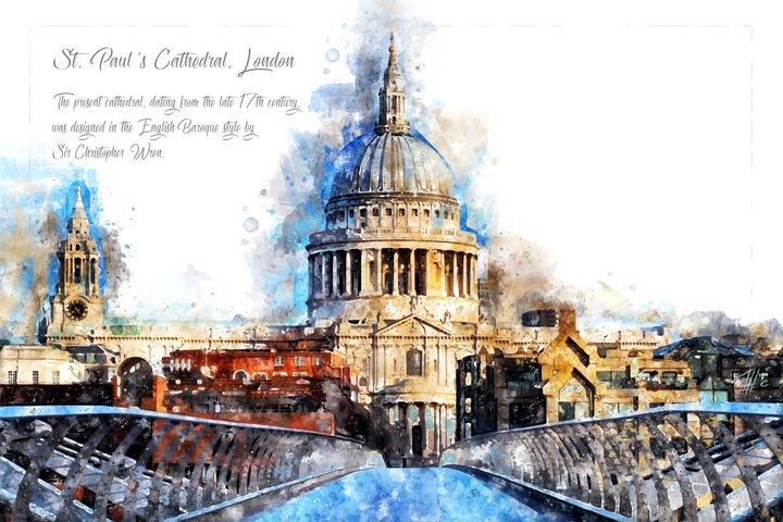 St. Pauls Cathedral, London - Theodor Decker