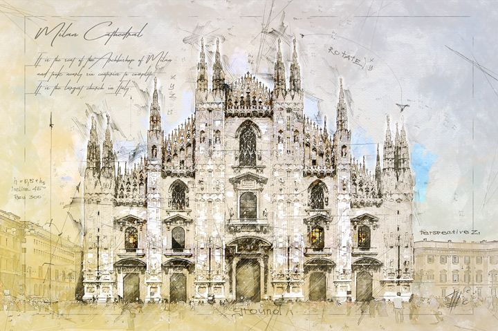 Milan Cathedral, Italy - Theodor Decker