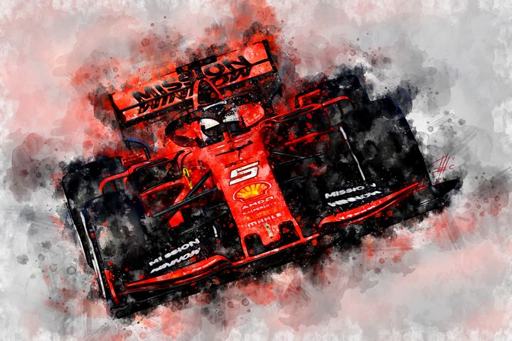 Vettel 2019 - Theodor Decker
