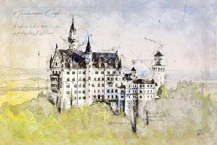 Neuschwanstein Castle, Germany - Theodor Decker