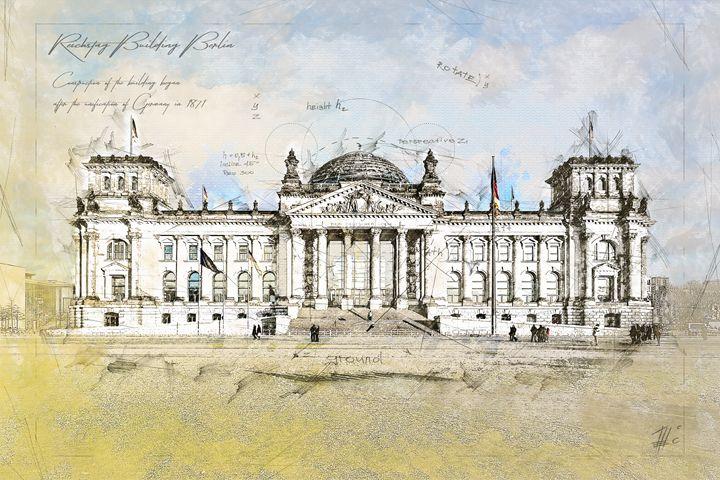 Reichstag, Berlin Germany - Theodor Decker