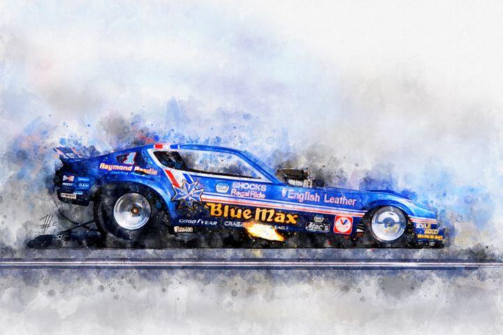 Raymond Beadle, Blue Max - Theodor Decker