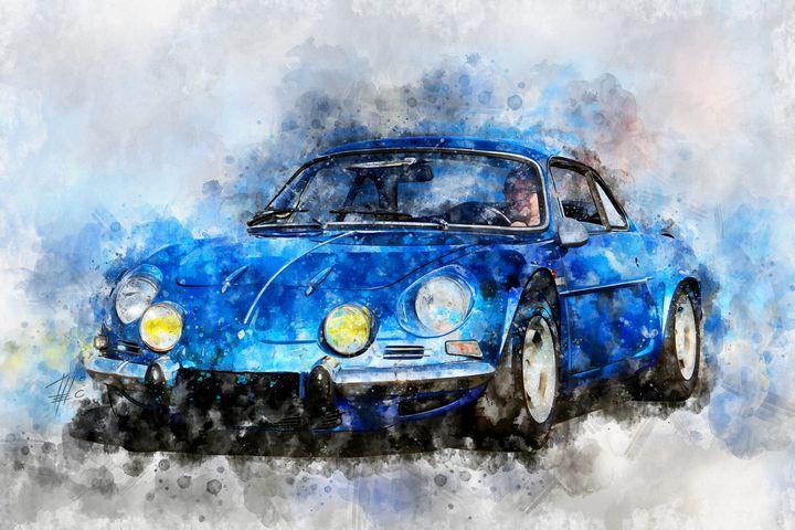 Renault Alpine A110 - Theodor Decker