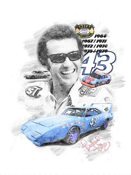 Richard Petty - Theodor Decker