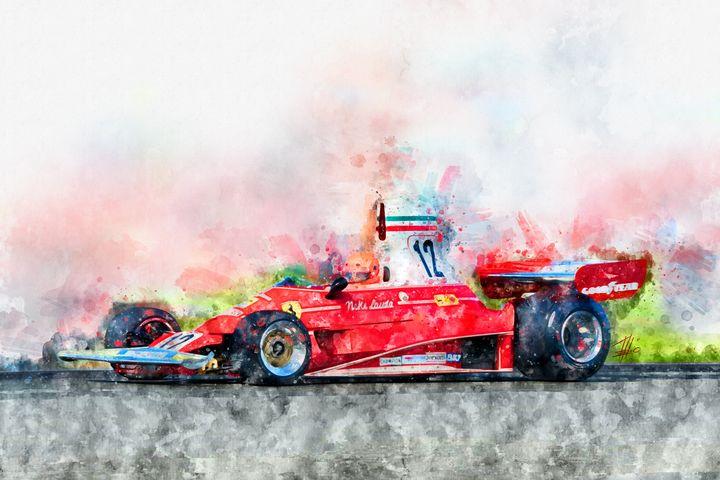 Niki Lauda No.12 - Theodor Decker