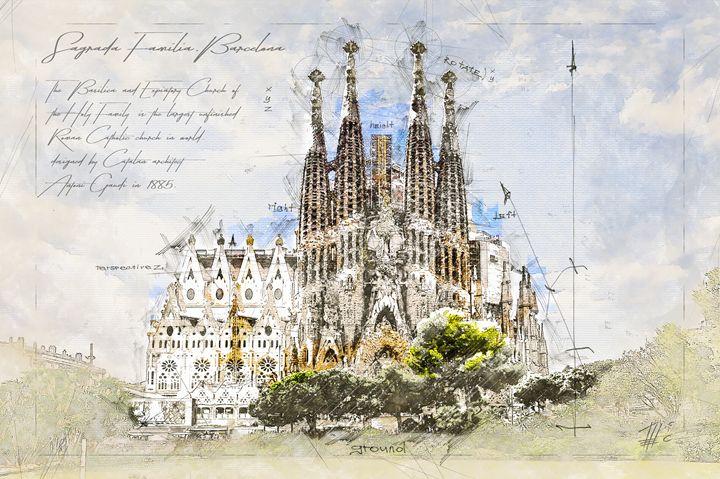 Sagrada Familia, Barcelona - Theodor Decker