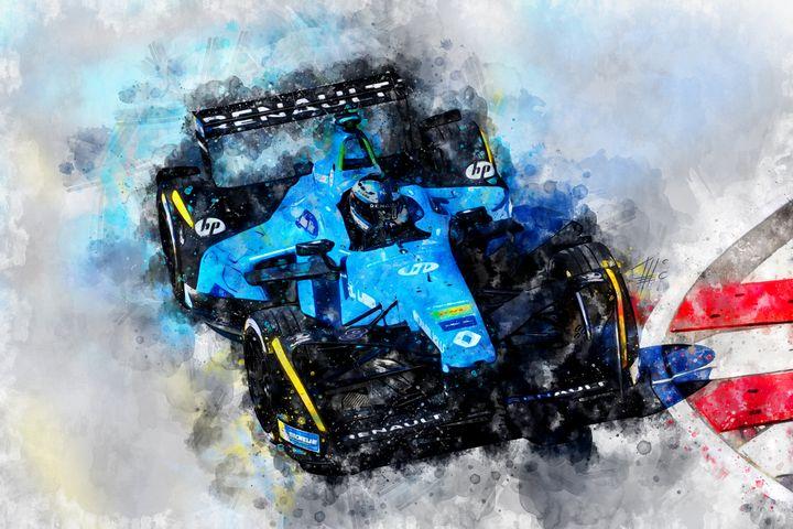 Nelson Piquet junior, Formula E - Theodor Decker