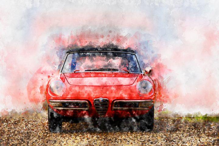 1968 Alfa Romeo Spider 1300 Duetto - Theodor Decker