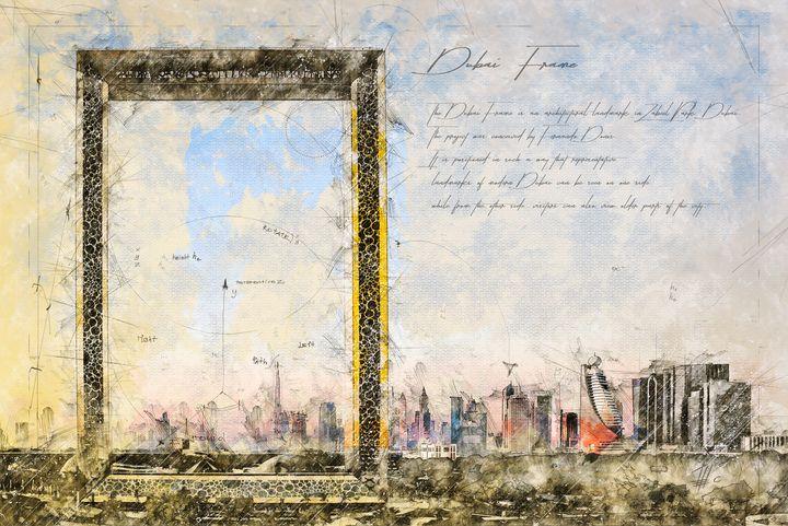 Dubai Frame - Theodor Decker