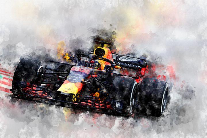 Max Verstappen F1 - Theodor Decker