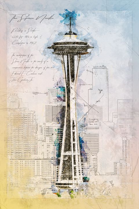 Space Needle, Seattle - Theodor Decker