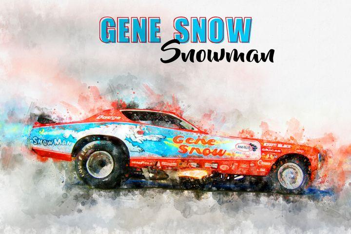 Gene Snow Snowman - Theodor Decker