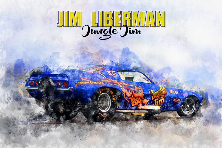 Jim Liberman Jungle Jim - Theodor Decker