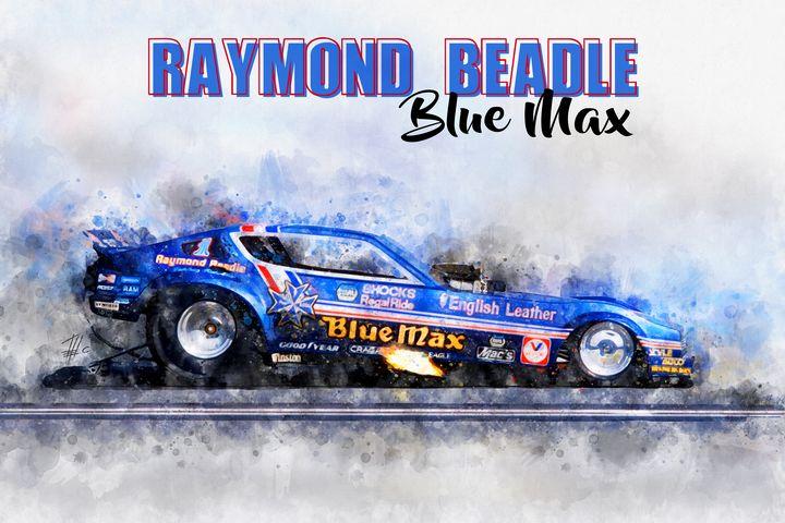 Raymond Beadle Blue Max - Theodor Decker