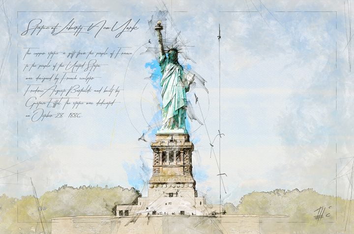 Statue of Liberty, New York - Theodor Decker