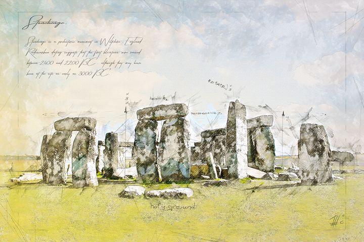 Stonehenge, England - Theodor Decker