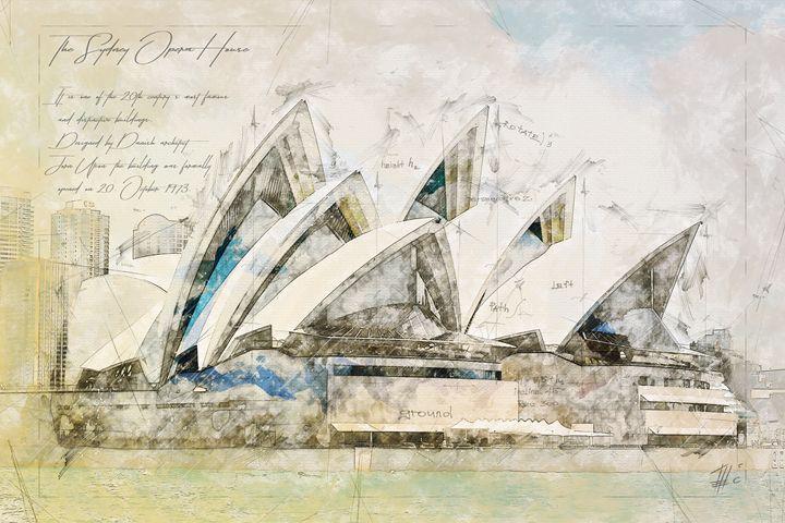 Sydney Opera, Australia - Theodor Decker