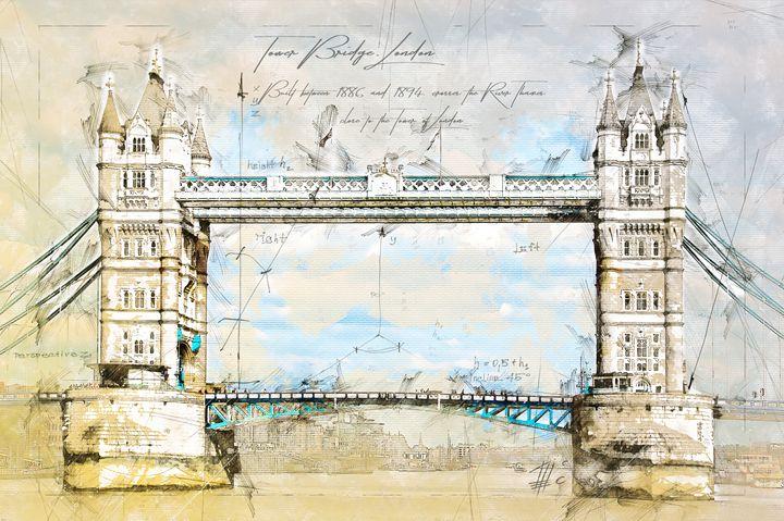 Tower Bridge, London - Theodor Decker