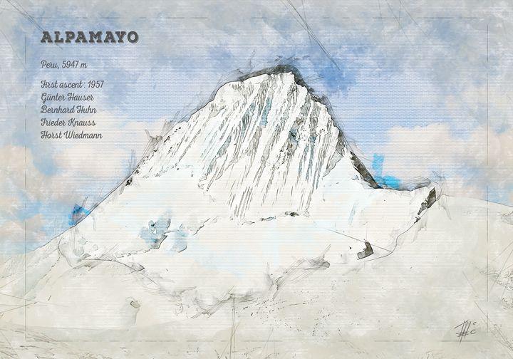 Alpamayo Mountain - Theodor Decker