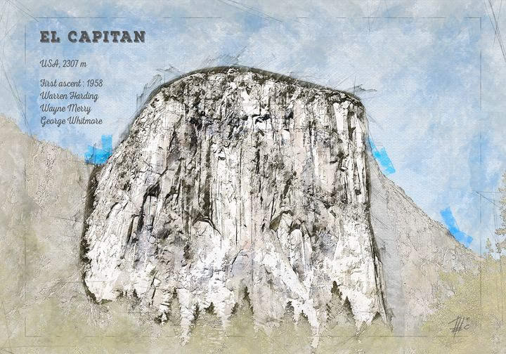 El Capitan, Yosemite - Theodor Decker