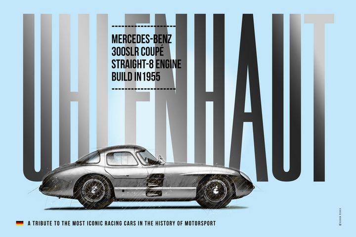 Mercedes 300SLR Uhlenhaut Tribute - Theodor Decker