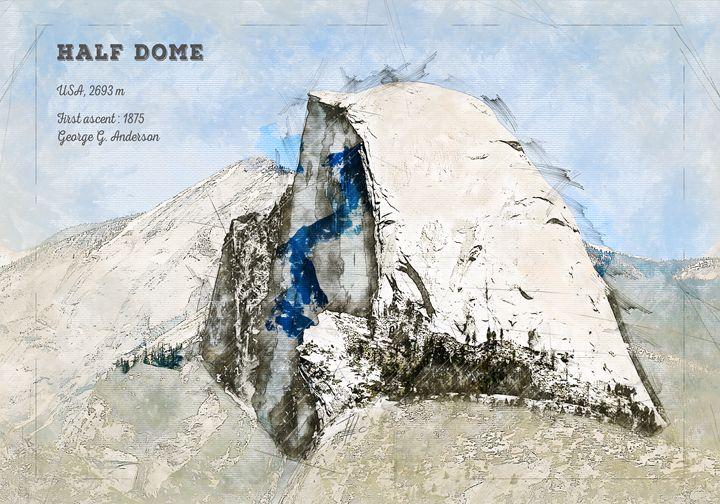 Half Dome, Yosemite - Theodor Decker