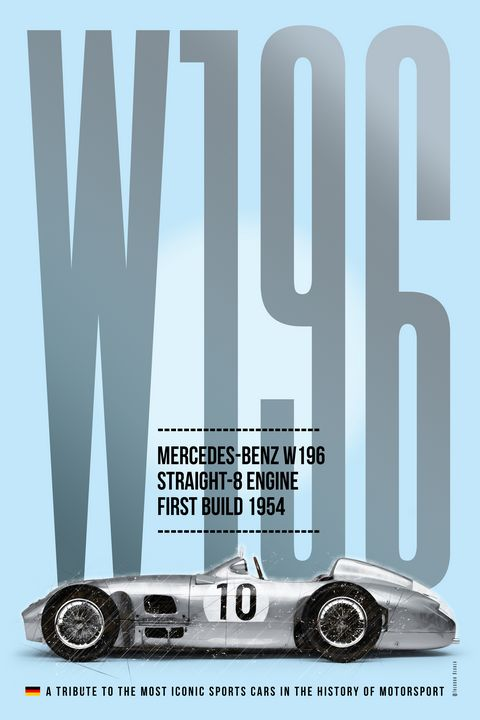 Mercedes-Benz W196, Tribute - Theodor Decker