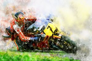 Barry Sheene No.7 - Theodor Decker