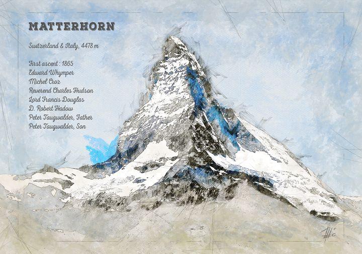 Matterhorn - Theodor Decker