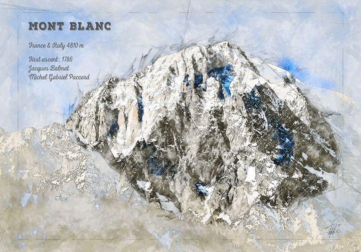 Mont Blanc - Theodor Decker