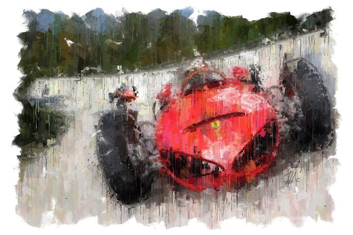 Ferrari 156 F1 at Monza - Theodor Decker
